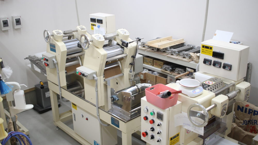 成美製麺の機器